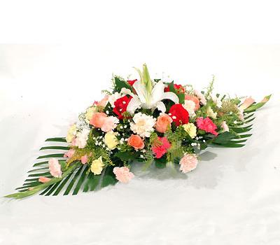 鲜花礼品-会议桌花3