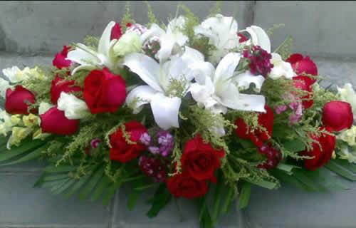 鲜花网-大众桌花