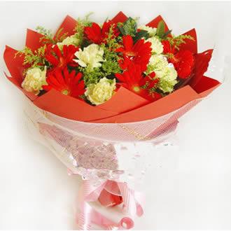 鲜花订购-甜美的微笑