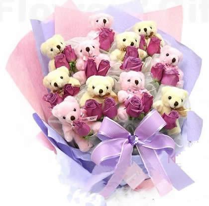 鲜花礼品-爱在花香