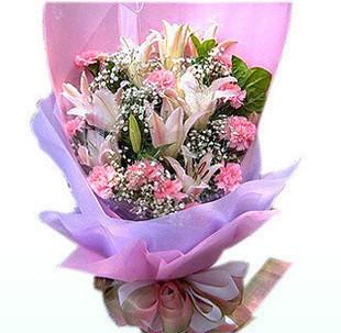 订花-祝福您