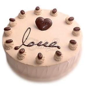 巧克力水果蛋糕-巧克力甜心