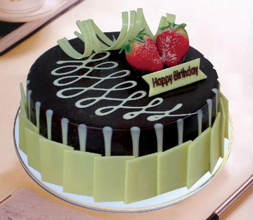 送蛋糕-黑白之恋