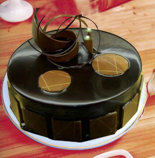 巧克力蛋糕-巧克力风情
