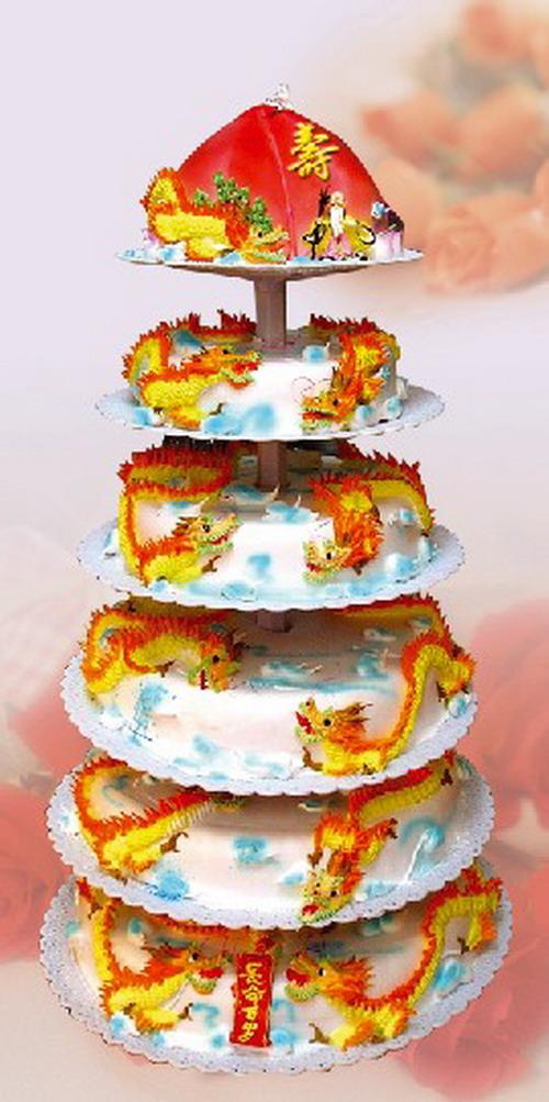 生日蛋糕-祝寿多层蛋糕1