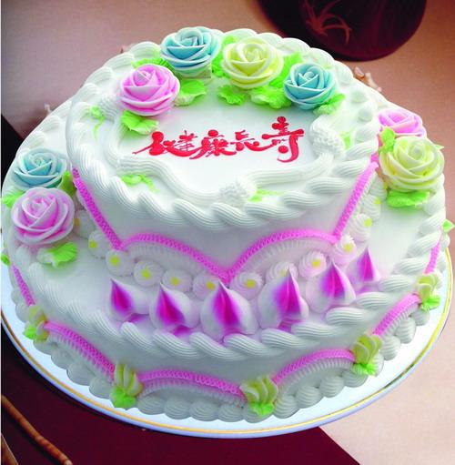 蛋糕订购-祝寿蛋糕3