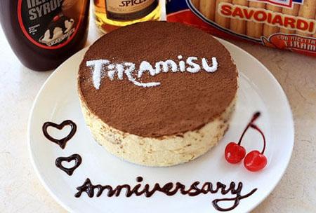 鲜花蛋糕-提拉米苏4