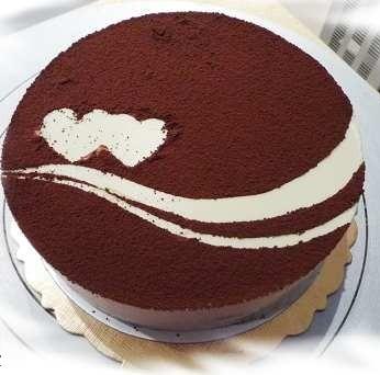 蛋糕鲜花-提拉米苏1