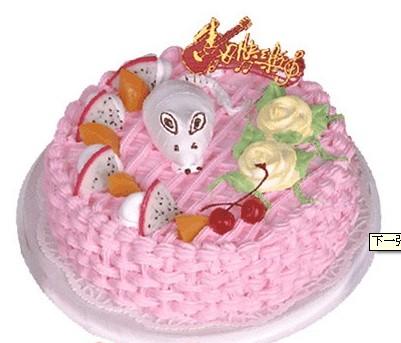 鲜花蛋糕速递网-小鼠