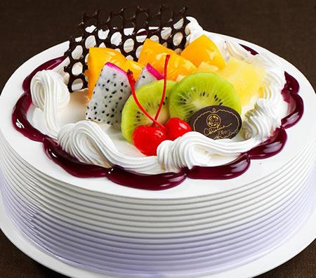鲜奶蛋糕dangao-克莉斯汀 紫芋花样