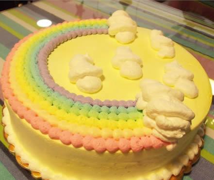 买蛋糕-绚丽彩虹