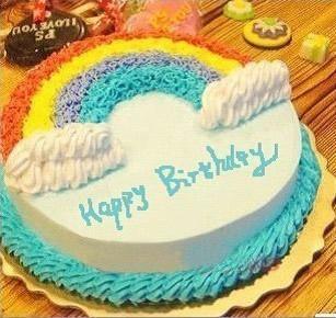 水果蛋糕-美丽彩虹