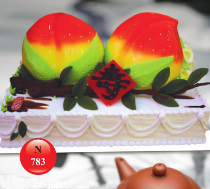 蛋糕订购-祝寿蛋糕