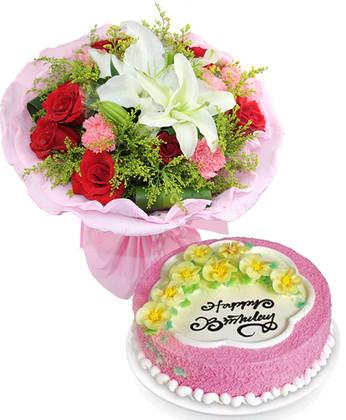 网上花店-愿幸福