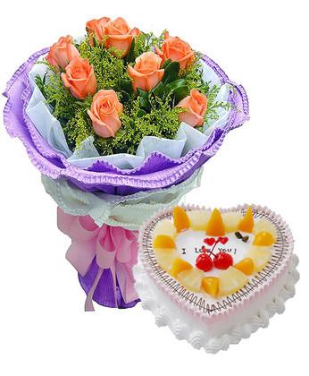 鲜花礼品-在你生日这天
