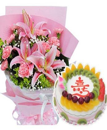�u蛋糕-祝福安康