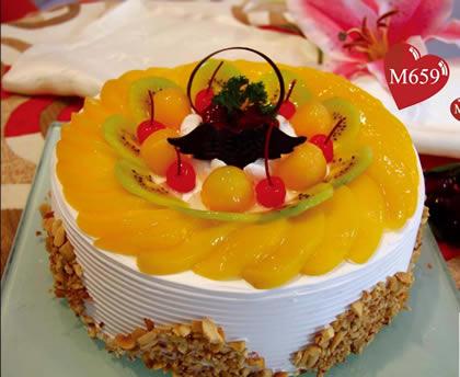 �r花蛋糕-永恒祝福
