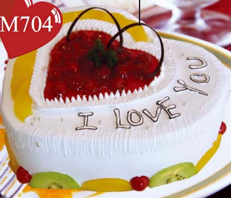 巧克力水果蛋糕-心海