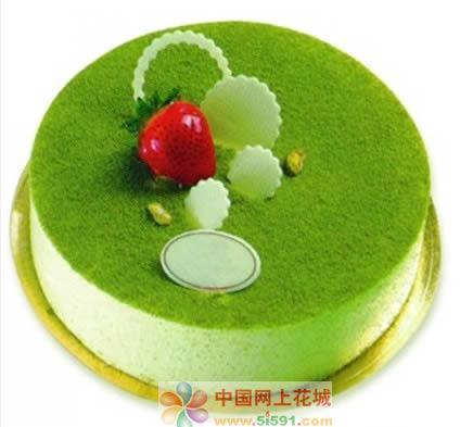 买蛋糕-绿色烂漫