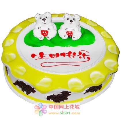 生日蛋糕-小熊乐园