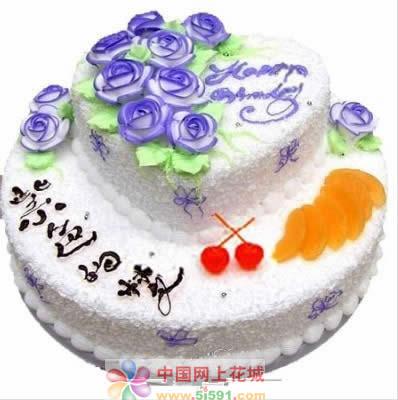 生日蛋糕-紫色的梦