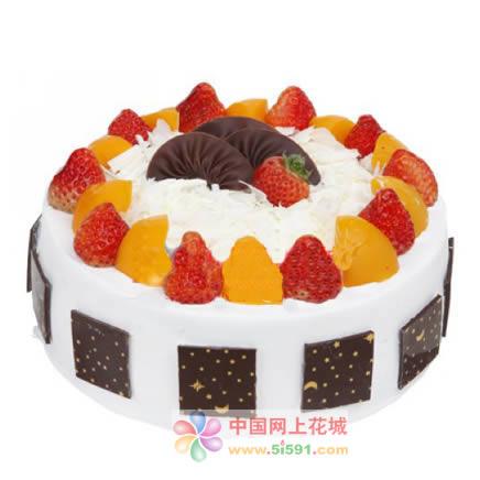 水果蛋糕-爱永恒