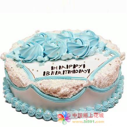 鲜花蛋糕速递网-生日快乐