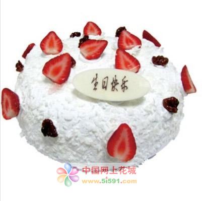 米旗品牌蛋糕-纯白之恋