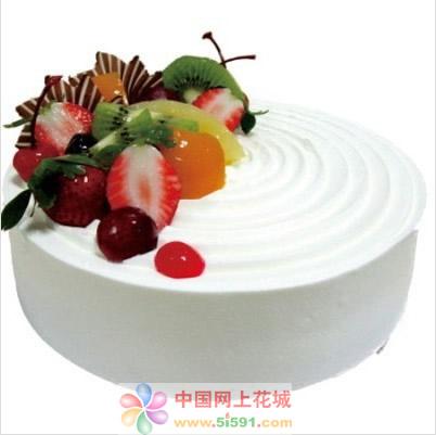 米旗品牌蛋糕-雪国风光