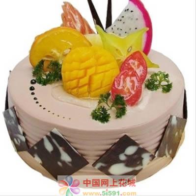 水果蛋糕-甜甜蜜蜜