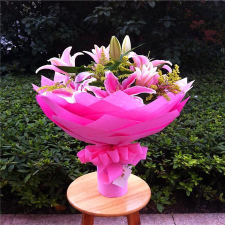 网络订花-粉色花语