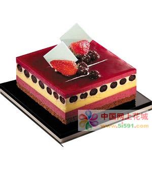 生日鲜花蛋糕-温柔如你