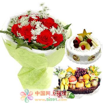 生日�r花蛋糕-�凵夏愕哪且豢�