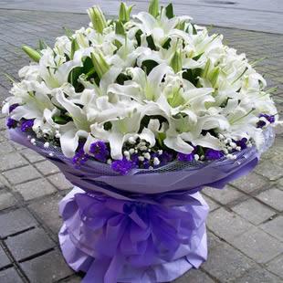 鲜花订购-深情祝福