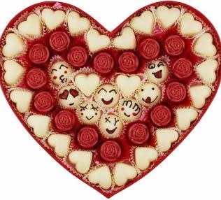 鲜花店-创意巧克力 幸福糖衣