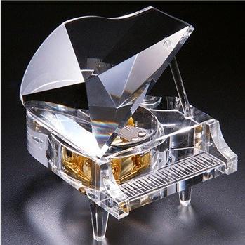 订花-十八音水晶钢琴音乐盒