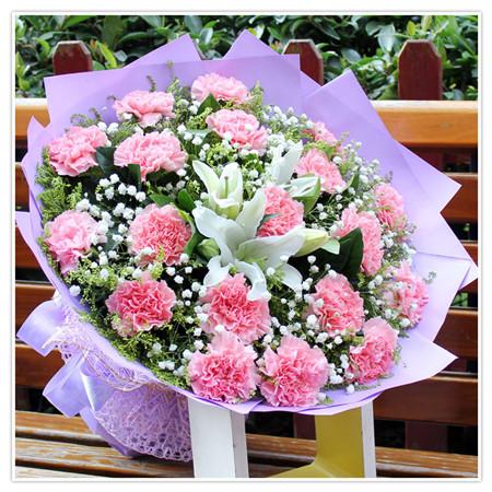 送花-幸福女人