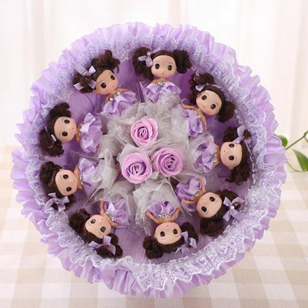 �花服��-迷糊娃娃B-紫色