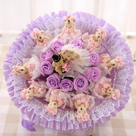�r花�Y品店-相�H相��-紫色