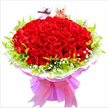 鲜花公司-长久爱