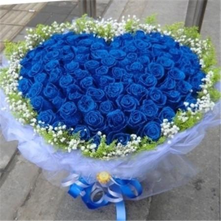 鲜花订购-蓝色爱情海