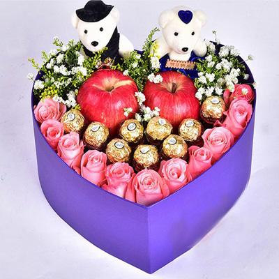 送花-圣�Q�Y盒1