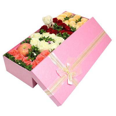 网上订花-LOVE礼盒