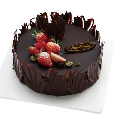 水果蛋糕-巧克力的爱恋