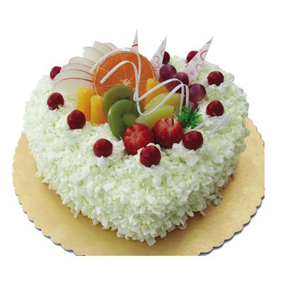 生日鲜花蛋糕-心花怒放