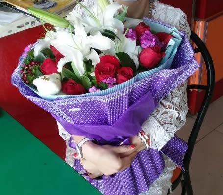 鲜花订购-七夕节快乐
