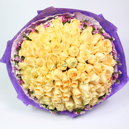 鲜花礼品-粉色之恋