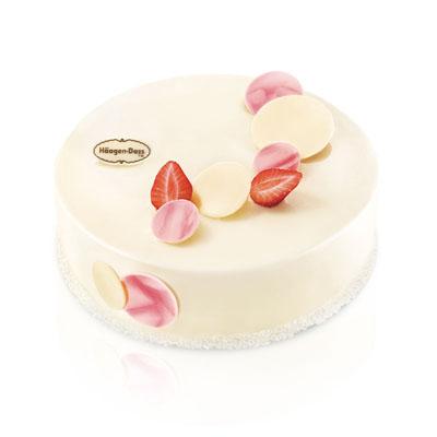 水果蛋糕-哈根达斯 冰淇淋蛋糕 草莓情人梦