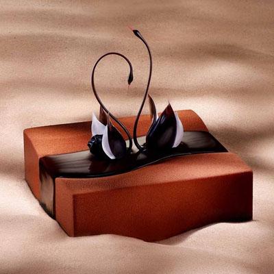 巧克力蛋糕-黑天鹅 挚友