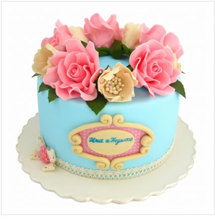 �r花蛋糕套餐-花香漫天
